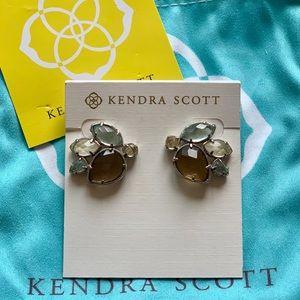 Kendra Scott Ombré Cluster Stud